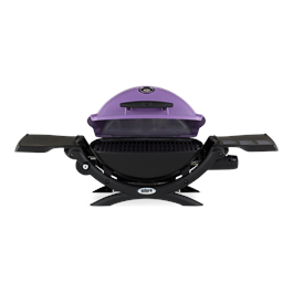 Weber Q1200 Purple Gas Barbecue Thumbnail Image 3