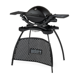 Weber Q1200 Black BBQ with Stand Thumbnail Image 1