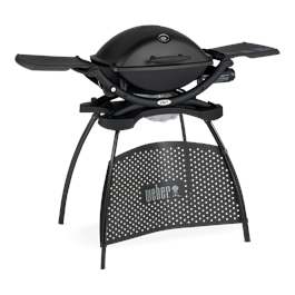 Weber Q2200 Black Barbecue with Stand Thumbnail Image 1