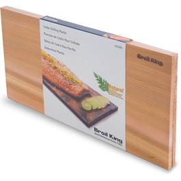 Broil King Cedar Grilling Planks x 2 Thumbnail Image 4
