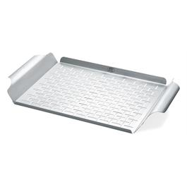 Weber Stainless Steel Rectangular Grilling Pan thumbnail