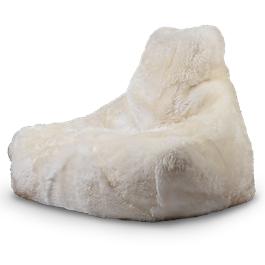 White Fur Mighty B Bag thumbnail