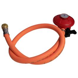 BBQ Hose Kit Bullnose Nozzle with Patio Gas Regulator thumbnail