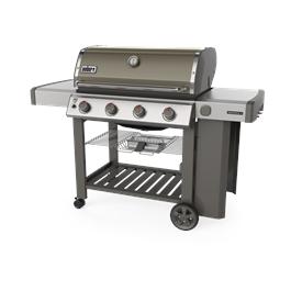 Weber Genesis E-410 GBS Gas Barbecue (Smoke Grey) Thumbnail Image 1
