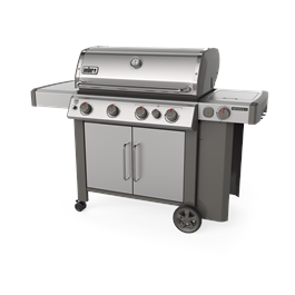 Weber Genesis II SP-435 GBS Gas Barbecue (Stainless Steel) thumbnail
