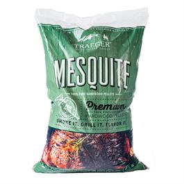 Traeger Mesquite Wood Pellets (20lb) Bag thumbnail