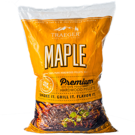 Traeger Maple Wood Pellets (20lb) Bag thumbnail