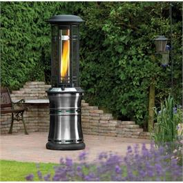 Lifestyle Santorini Flame Patio Heater Thumbnail Image 1