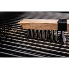 Broil King Heavy Duty Wooden Grill Brush Thumbnail Image 5