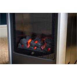 Portable Manhattan Real Flame Effect 3.4kW Living Flame Gas Heater Thumbnail Image 3