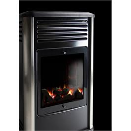 Portable Manhattan Real Flame Effect 3.4kW Living Flame Gas Heater Thumbnail Image 1