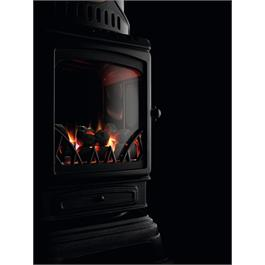 Provence Calor Real Flame Effect 3kW Cream Gas Heater Thumbnail Image 2