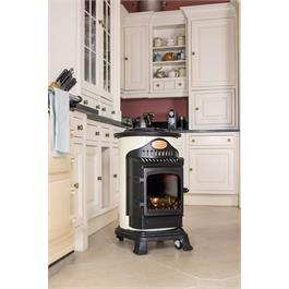 Provence Calor Real Flame Effect 3kW Cream Gas Heater Thumbnail Image 6