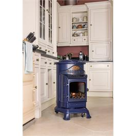 Provence Portable Real Flame Effect 3.4kW Blue Gas Heater Thumbnail Image 5