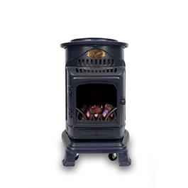 Provence Portable Real Flame Effect 3.4kW Blue Gas Heater Thumbnail Image 0