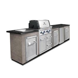 Broil King Imperial 490 Built-In With Cabinet (Natural Gas) thumbnail