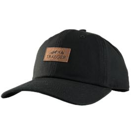 Traeger Hat - Black Curved Bill (Adjusta thumbnail
