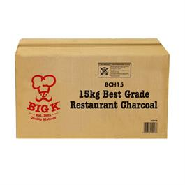 Big K Flame 15kg Boxed Restaurant Charcoal thumbnail