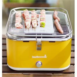 Barbecook Carlo Yellow Portable Charcoal Barbecue Thumbnail Image 1
