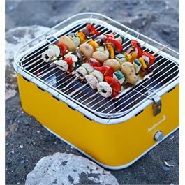 Barbecook Carlo Yellow Portable Charcoal Barbecue Thumbnail Image 2