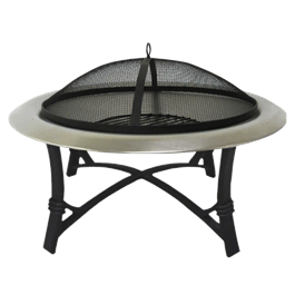 Lifestyle Prima Stainless Steel Round Firepit thumbnail