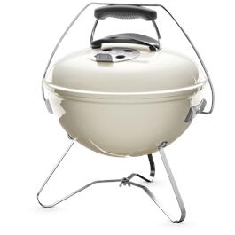Weber Smokey Joe Premium Ivory 37cm Charcoal Barbecue thumbnail