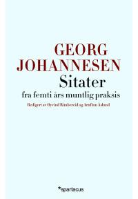 Georg johannesen sitater fra femti ars muntlig praksis