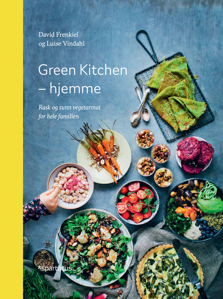 Green kitchen hjemme