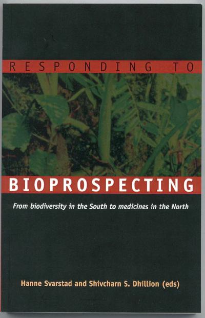 Responding to bioprospecting