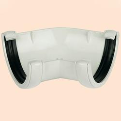 White Round 135 Degree Gutter Angle image