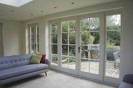 Conventional – traditional French doors image