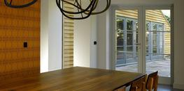 Contemporary French doors image