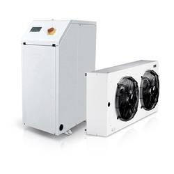 HH FF is the Climaveneta range of cooling units. These are indoor units that may be combined with remote outdoor condensers to guarantee maximum flexibility and compliance with any architectural restriction. These units have hermetic Scroll compressors and Ful...
