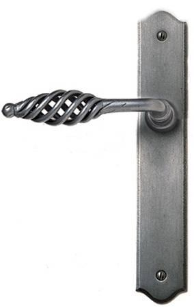 CELTIC LATCH LEVER HANDLES 01-082 BLACK by Clayton Munroe