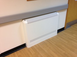 After years of development with mental health professionals Clarke Delta are proud to introduce a revolutionary Anti-ligature Radiator Guard specifically designed for mental health environments. The challenge of protecting vulnerable service users against hot radiator surfaces and ligature points has been confronted with a modernistic look that blends gently into the environment. 