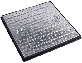 SPC7CG3 Solid Top Manhole Cover & Frame image