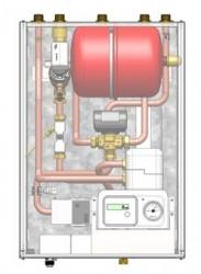 ModuSat  single plate double circuit heat interface unit (HIU) - Evinox Ltd