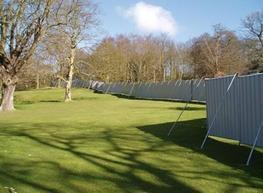 Eve Hoarding Fence - Eve Trakway