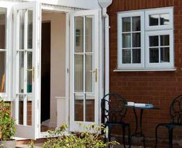 Wooden French Doors image