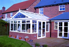 Our range of Gable End conservatories share many characteristics with our Edwardian range. The main feature being a traditional fully glazed apex pitched roof combined with an elegant front elevation. Just like our Edwardian range your Gable End conservatory w...