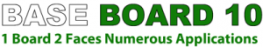 Resistant Base Board 10 is a high quality, high performance, A1 Non-Combustible general purpose 10mm magnesium oxide building board. The boards are very robust, resistant to the effects of weather and dimensionally stable during the construction phase of the p...
