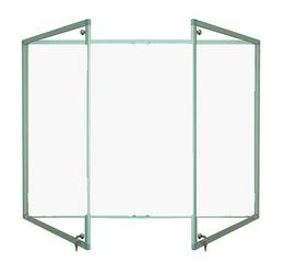 Magnetic Tamperproof Lockable Whiteboard with Aluminium Frame image