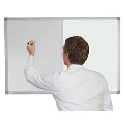 Combination Whiteboard with Lucia Fabric image