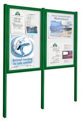 Exterior Weatherproof Classic Noticeboard with Posts image