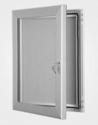 External Silver Satin Anodised Key Lock Showcase image