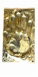 Single Handprint Push Plate image