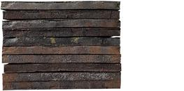 Measures 20.8 x 4.3 x 1.5 in Faces4 Bricks required38 pcs/m2 Mortar required3 kg/brick...