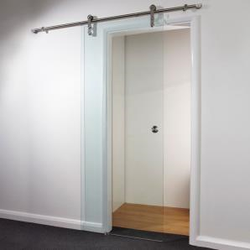 Clear Sliding Glass Door 840mm image