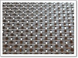 Square Woven Stainless Steel Grille – 3mm Plain image