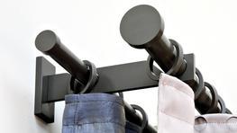 Double Curtain Poles image